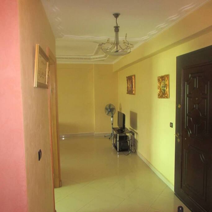 Hallway to sitting room