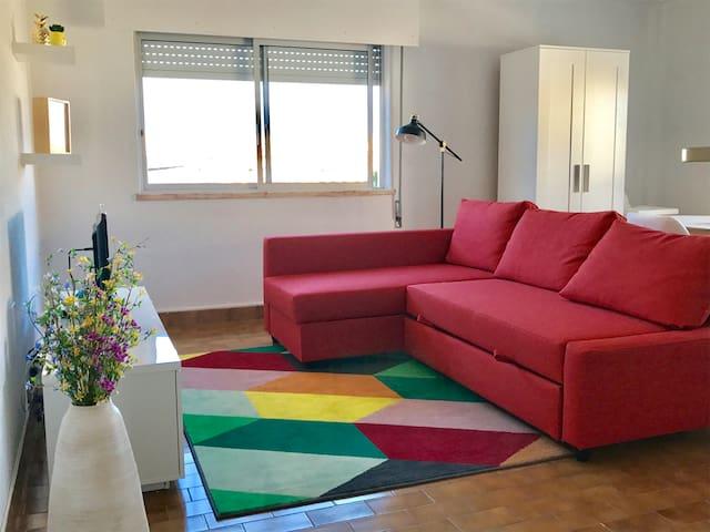 Modern apartment close to the beach