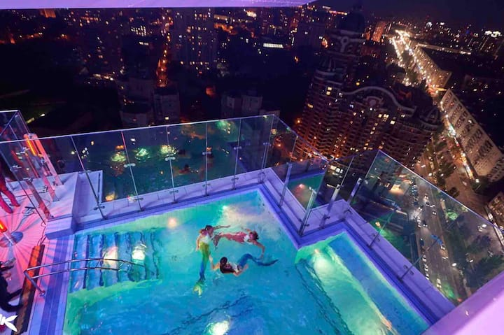 Best View Vip App with pool on the roof Jack House