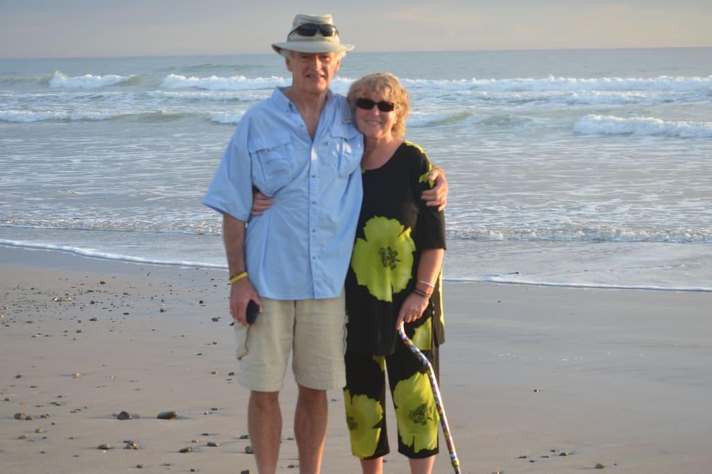 Your hosts - Rob& Sue