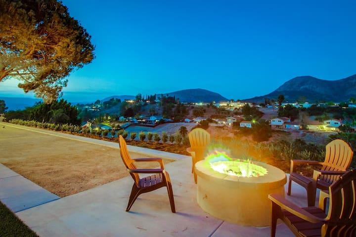 Spacious home with incredible backyard views