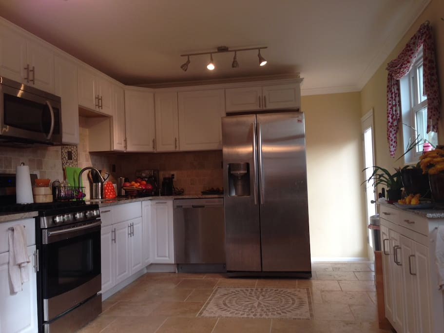 Modern kitchen with full amenities