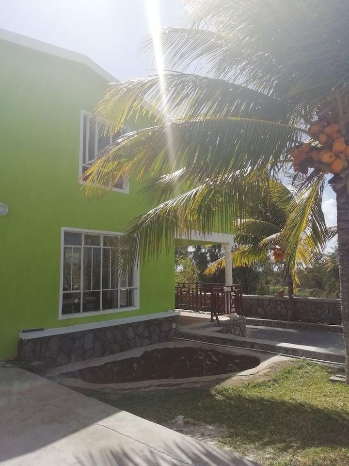La Caze Coco-Émeraude-Maison d'hôte à Pointe Coton