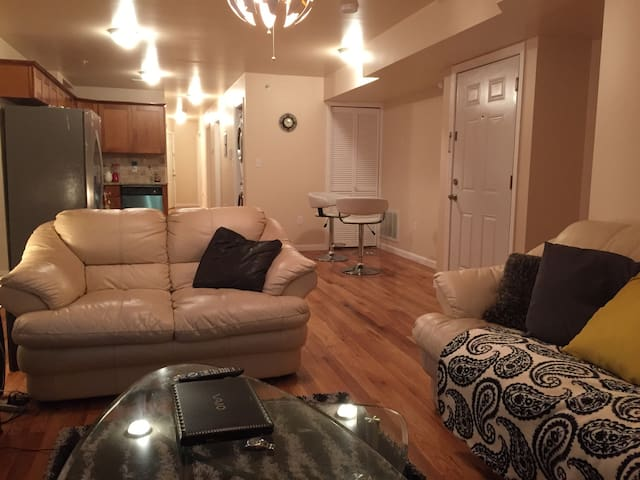 Charming Home (3bd/2ba)(6-8ppl)(20mins to NYC) - Jersey City - Huoneisto