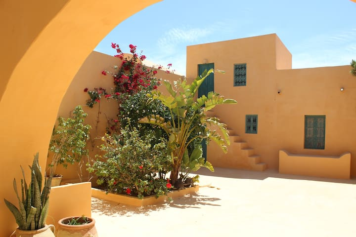 Houch Les Mimosas, Houmtsouk.  - Djerba Midun - Casa