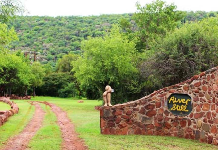 Riverstill Guest Farm - Stroh House,  Groot Marico