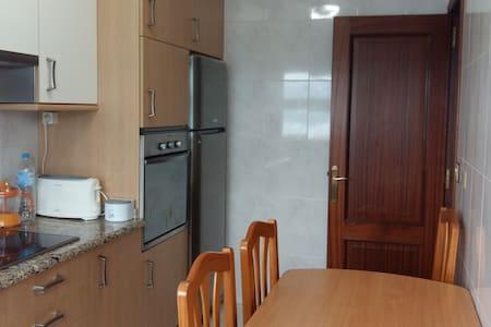Apartamento en 1ª línea de playa - Muros - Apartment