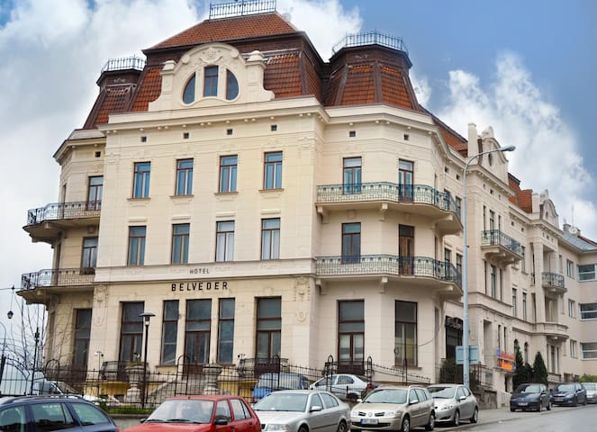 Art Nouveau Building near Tugendhat - Brno
