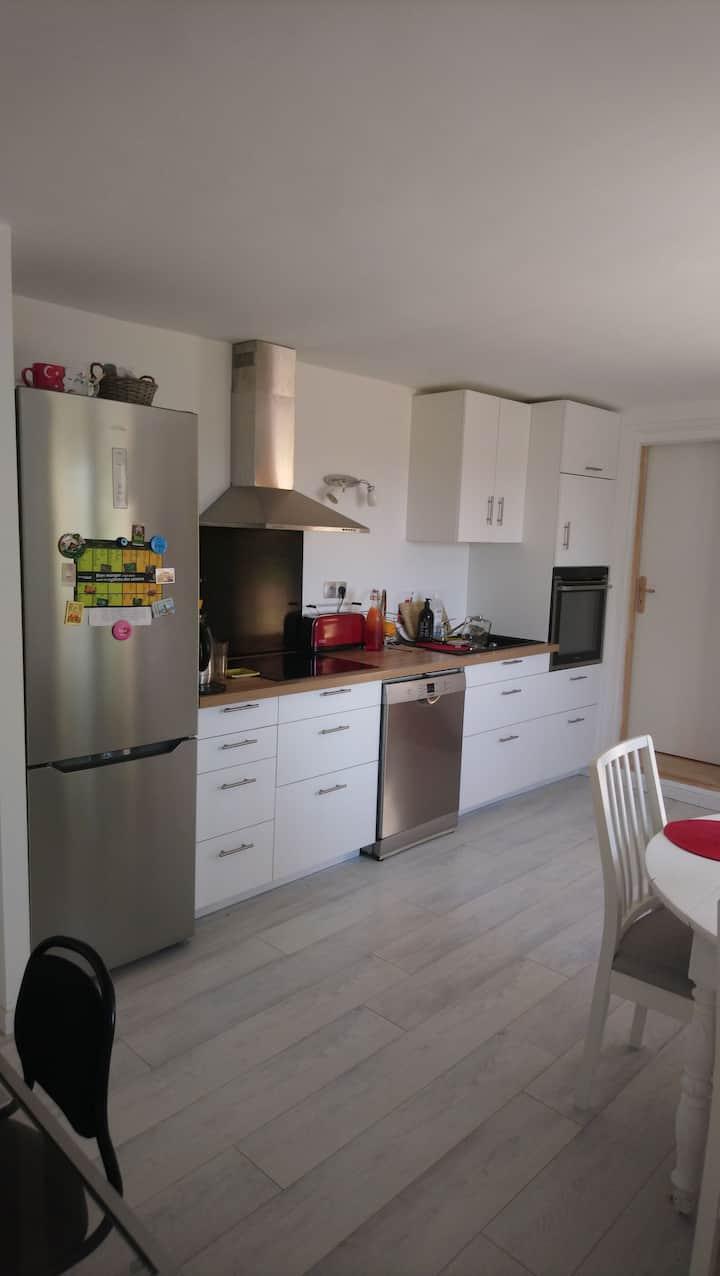 Maison neuve avec jardin à 10min de Marseille