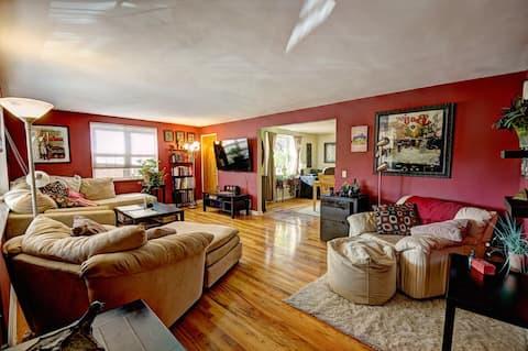 Full 2 bedroom flat in Oakley duplex