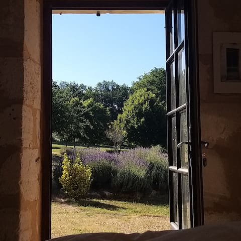 View of the Lavender from Bedroom 1
