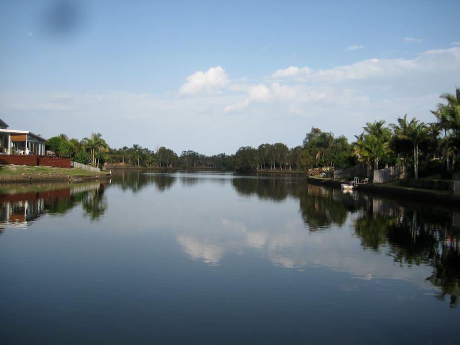 Expansive water views