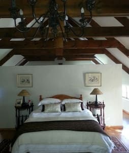 Spacious guest suite with a view.  - Swellendam