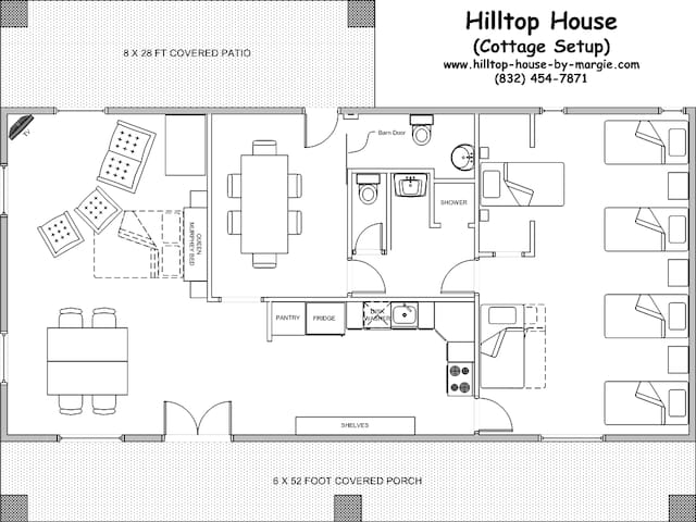 Hilltop House by Margie