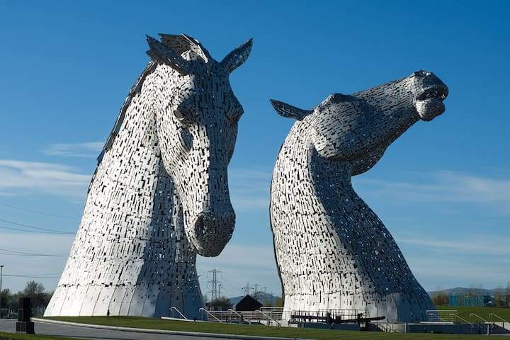 Falkirk, Entire Flat beside Kelpies - Camelon - Daire