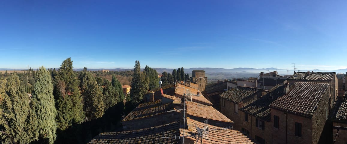 Panoramic loft in Val d'Orcia - San Quirico d'Orcia - Appartement