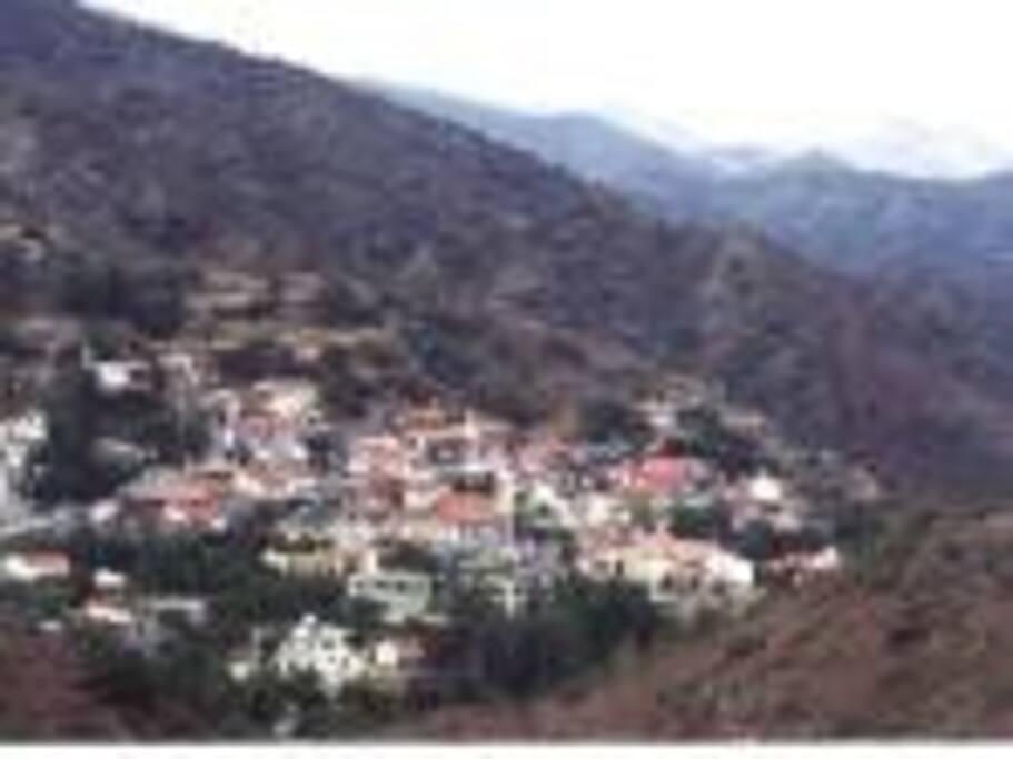 The picturesque KaloChorio Village