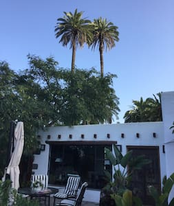 Nice house whith large palms garden in north GC - Los Dragos - MOYA