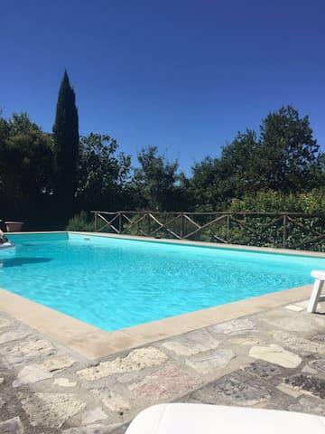 Casa Dinda  private villa in the hearth of Umbria