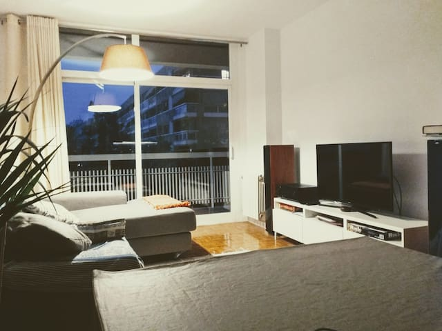 Single room in renewed flat in Les Corts