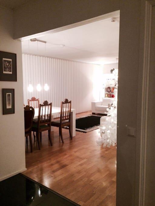 Living room&dining