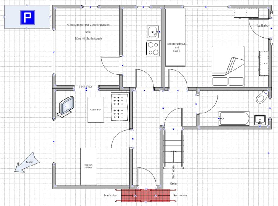 Der Grundriss The ground plan