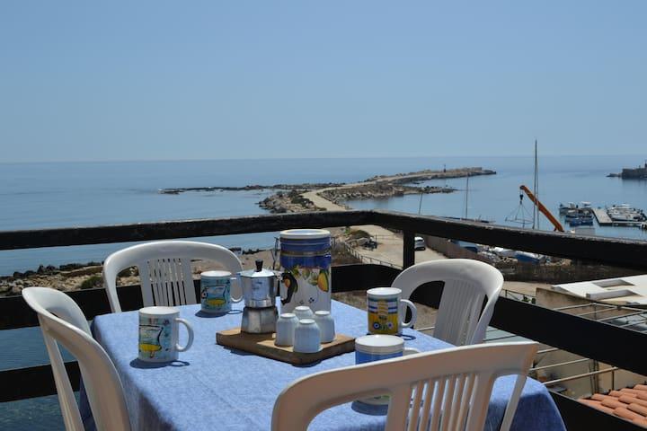 Casa Bellavista direttamente sulla spiaggia - Marzamemi - Apartamento