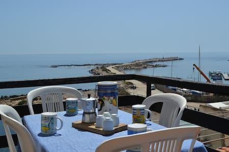 Casa Bellavista direttamente sulla spiaggia - Marzamemi