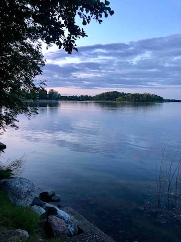 Homestay by sea, quiet area nearby Helsinki Center