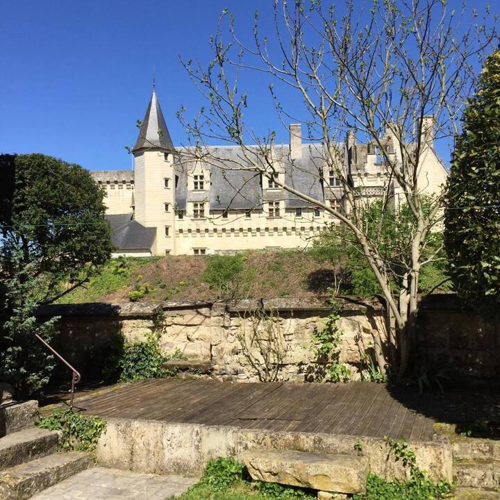 Maison avec jardin, vallée de la Loire