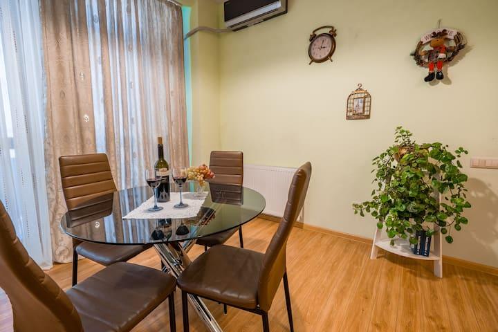 New Cozy flat in City center (metro1min)