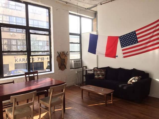 1 bedroom great place 15min to heart of Manhattan - New York - Loft