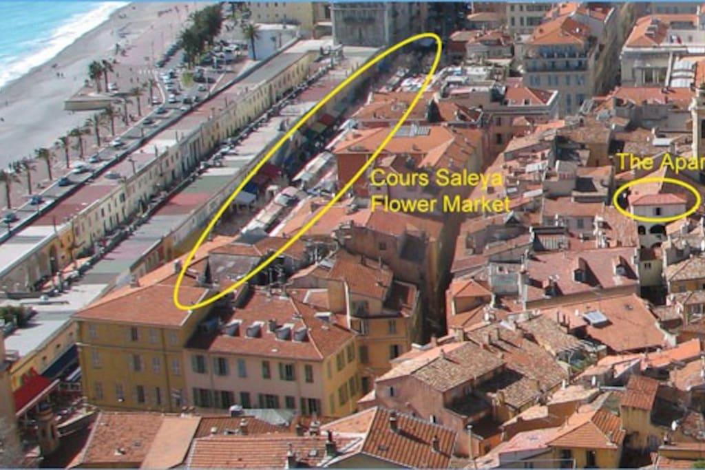 Apartment's Location