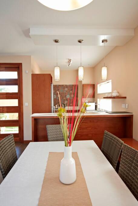 Dining Area of Villa