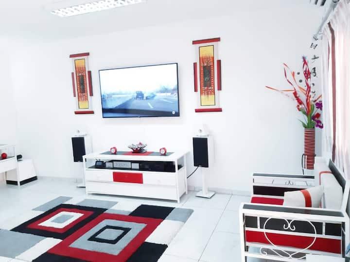 Abidjan : Maison de rêve pour un séjour agréable