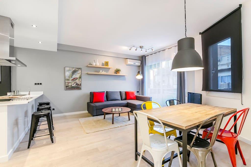 Newfangled pla a santa madrona appartamenti in affitto a for Appartamenti barcellona affitto mensile
