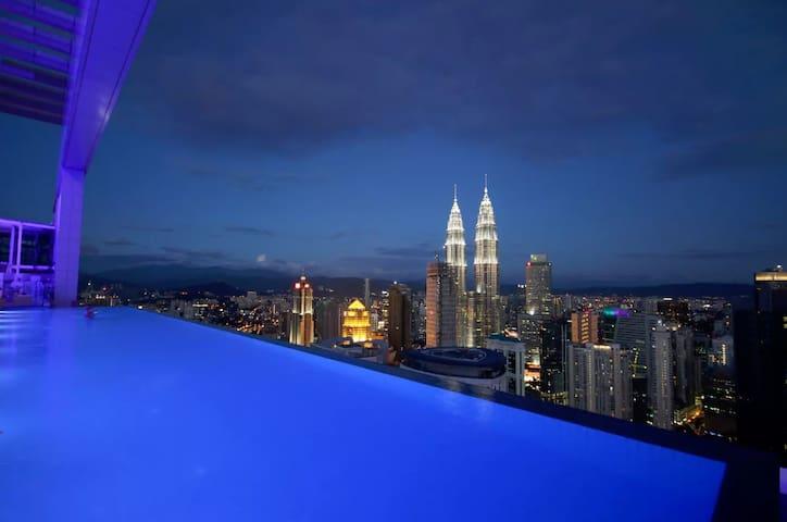 Face Platinum Suite near KLCC and Pavilion - Kuala Lumpur - Apartment