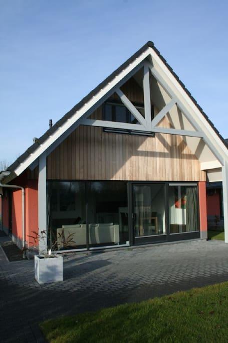 Beachvilla balk friesland 8p huizen te huur in balk for Huizen te koop friesland