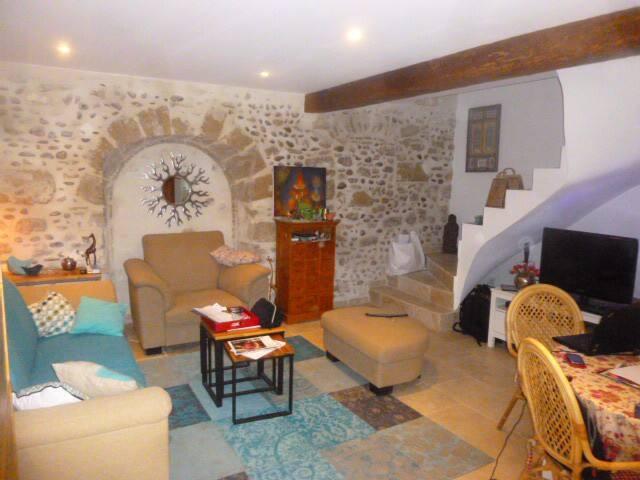 Chambre à louer (13 km d'Avignon) 1 ou 2 personnes - Jonquerettes - บ้าน