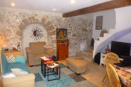 Chambre à louer (13 km d'Avignon) 1 ou 2 personnes - Jonquerettes - Huis