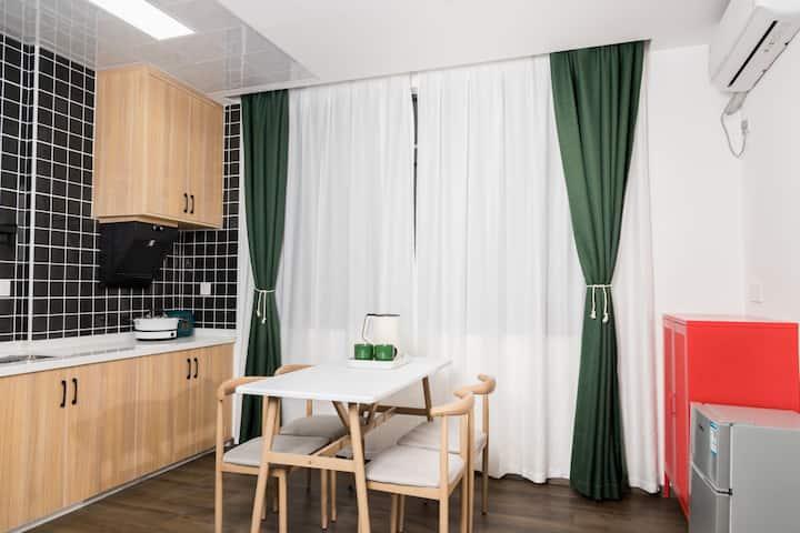 【庐山站】居窝公寓一室一厅复古小公寓
