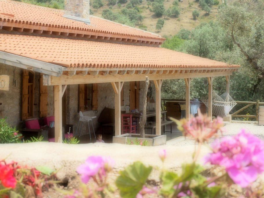 The olive mil is restored to a nice private villa with pool