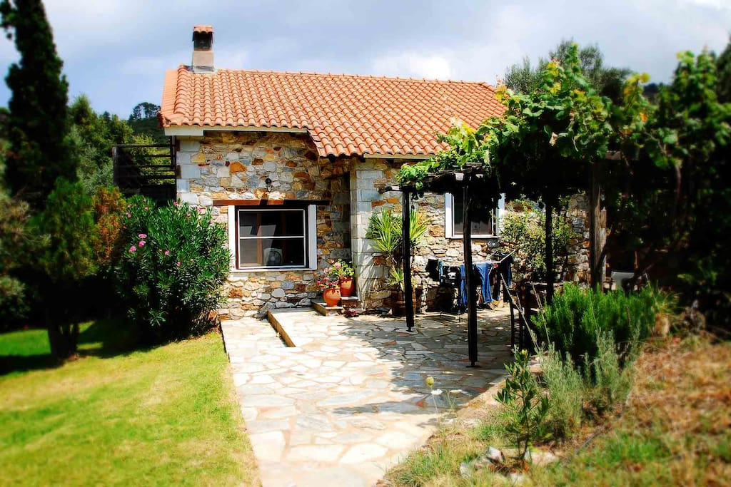 The Farmhouse courtyard