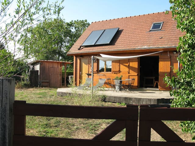Eco-friendly house in the French countryside