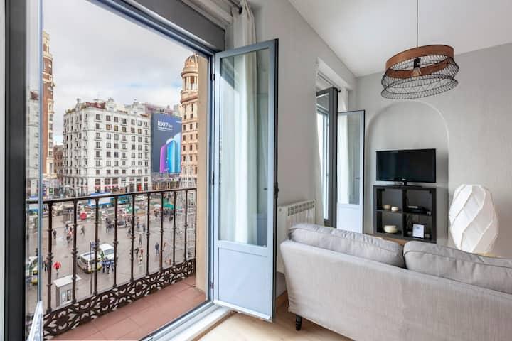 Amazing penthouse-dúplex Gran Via/Sol  NEW!