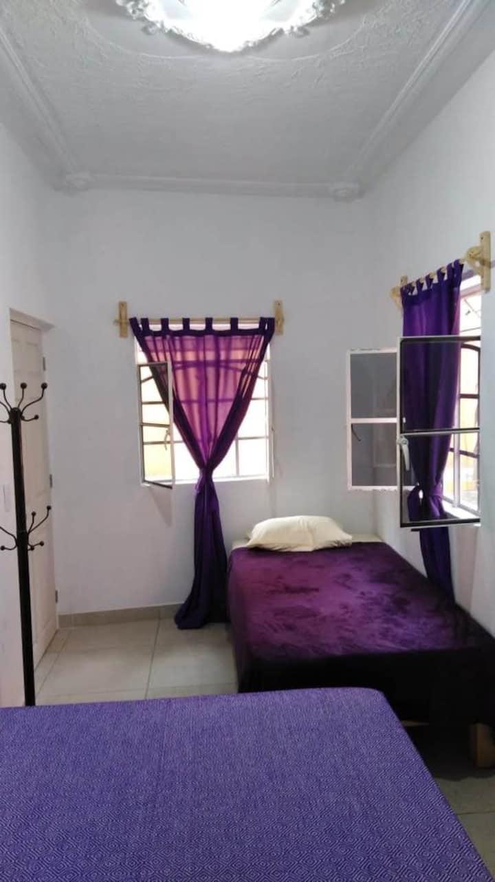 Habitación 3 personas 2 camas. Tequila Jal Centro.