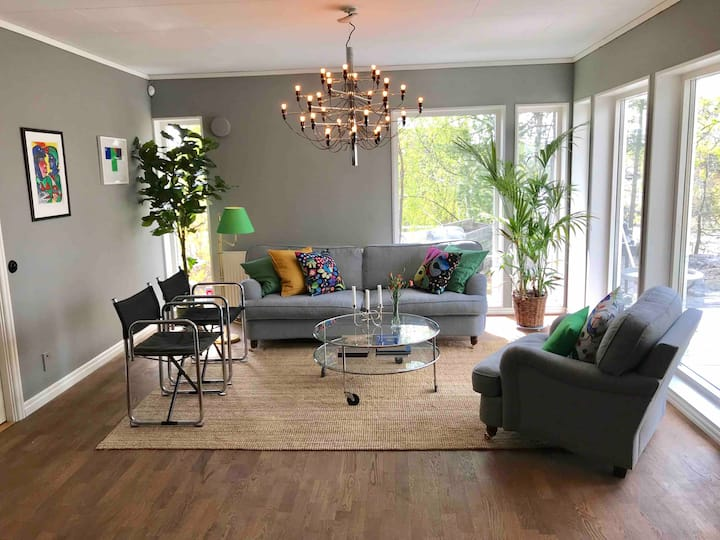 House in beautiful Lidingö 10min to Stockholm city