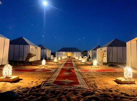 desert camp & camel trekking