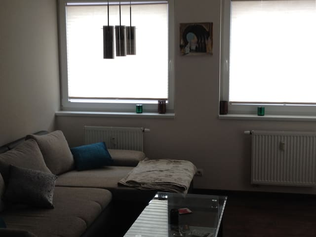 Flat close to the city center + parking, balcony