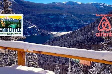 """Hike To"" Eco Backcountry Ski Lodge - Shared Room - Lake City"